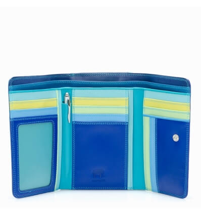 mywalit Medium Tri-fold w/Outer Zip Purse Seascape