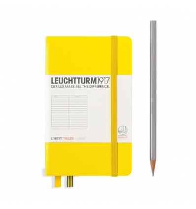 Bild von Leuchtturm Notizbuch Zitrone, Pocket A6, liniert hergestellt von Leuchtturm