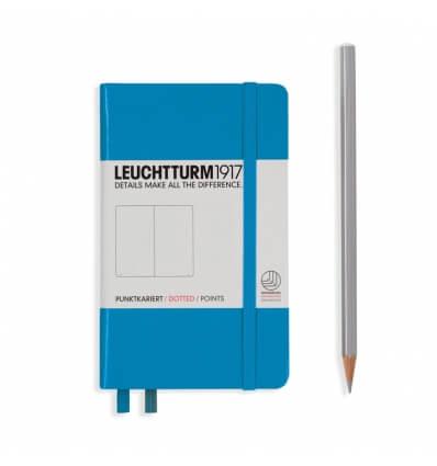 Leuchtturm Notizbuch Azur, Pocket A6, dotted