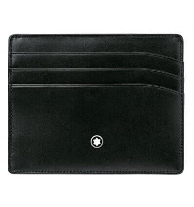 Bild von MONTBLANC MST Pocket Holder 6cc Black hergestellt von MONTBLANC