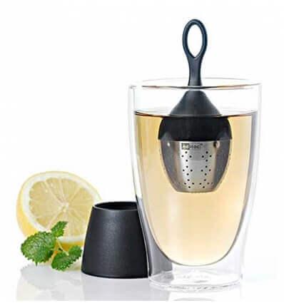 Bild von AdHoc Floatea Schwimmendes Tee-Ei schwarz hergestellt von AdHoc