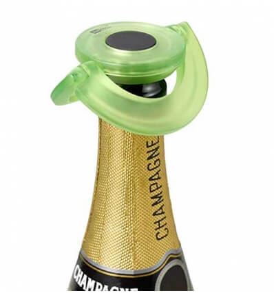 Bild von AdHoc Sekt/Champagner-Verschluss Gusto grün hergestellt von AdHoc