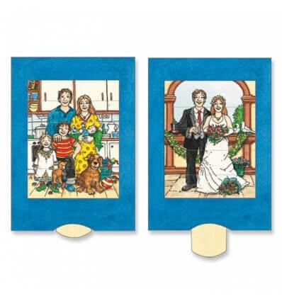 Bild von Bärenpresse Lebende Karte Hochzeit/Wedding hergestellt von Bärenpresse