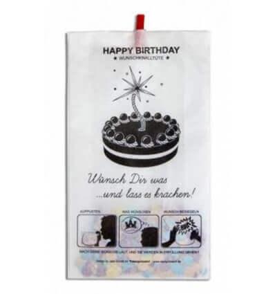 Bild von designimdorf Wunschknalltüte Happy Birthday hergestellt von designimdorf
