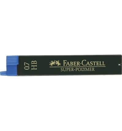 Bild von Faber-Castell Feinmine SUPER POLYMER 0,7 HB hergestellt von FABER-CASTELL