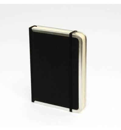 Bild von Bindewerk Notizbuch BASIC schwarz hergestellt von Bindewerk