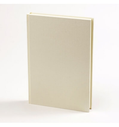 Bild von Bindewerk Adressbuch LEINEN vanille hergestellt von Bindewerk