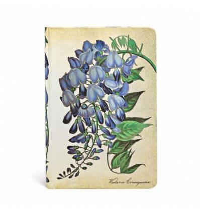 Bild von Paperblanks Notizbuch Blühende Glyzinie Mini UNL 176 Seiten hergestellt von Paperblanks