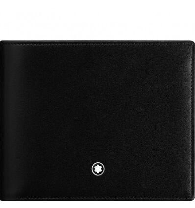 MONTBLANC MST Wallet 10cc Coin Case Black