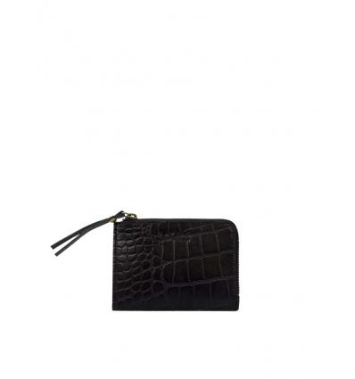 Bild von O MY BAG COIN PURSE Eco-Classic Black Croco hergestellt von O MY BAG