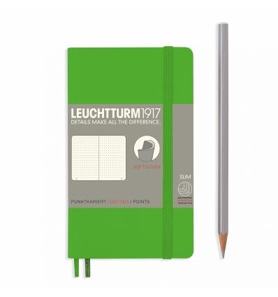Bild von Leuchtturm Notizbuch Softcover Fresh Green, Pocket A6, dotted hergestellt von