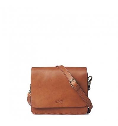 O MY BAG AUDREY MINI Cognac Classic Leather